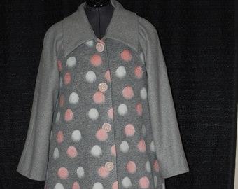 1940's Raglan Sleeve Long Coat