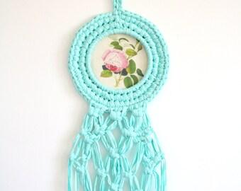 Macrame wall hanging / Crochet hoop wall art