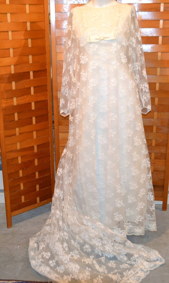 1950's Wedding Gown Lily of The Valley