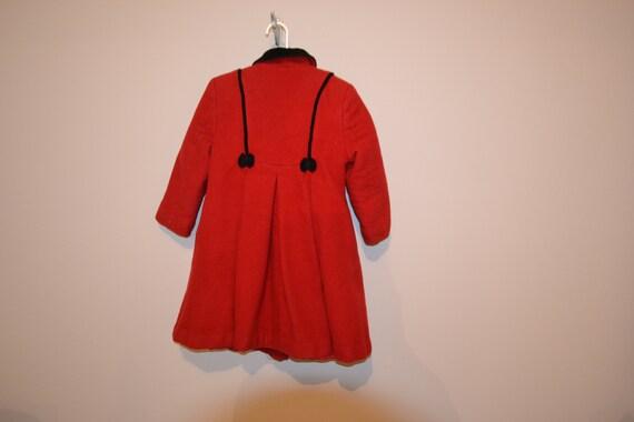 Princess Vintage Coat Wool with Bows - image 2