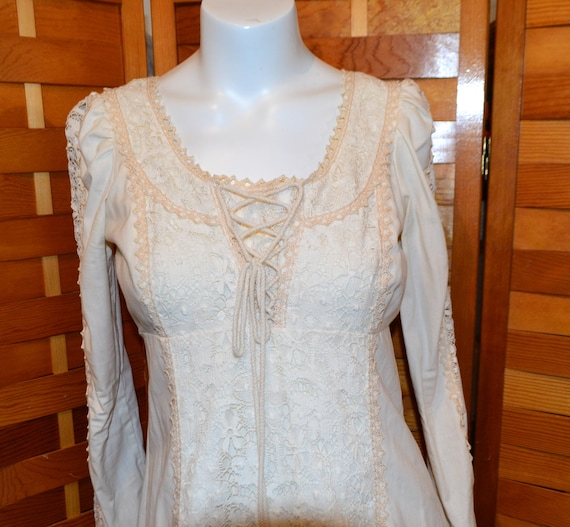 Gunne Sax by Jessica Ivory Peasant Country  Elegan
