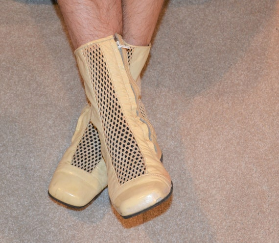 Mens Vintage Ankle Boots 1960's