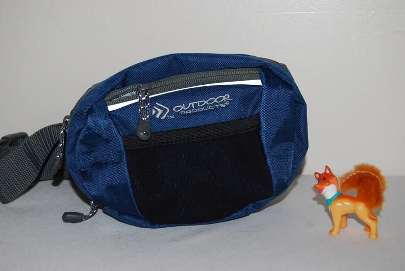 Vintage Fanny Pack Outdoor Blue