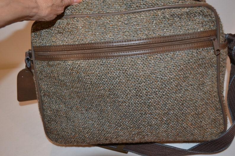 Pucci Vintage Tweed Tote  Carry On  Bag