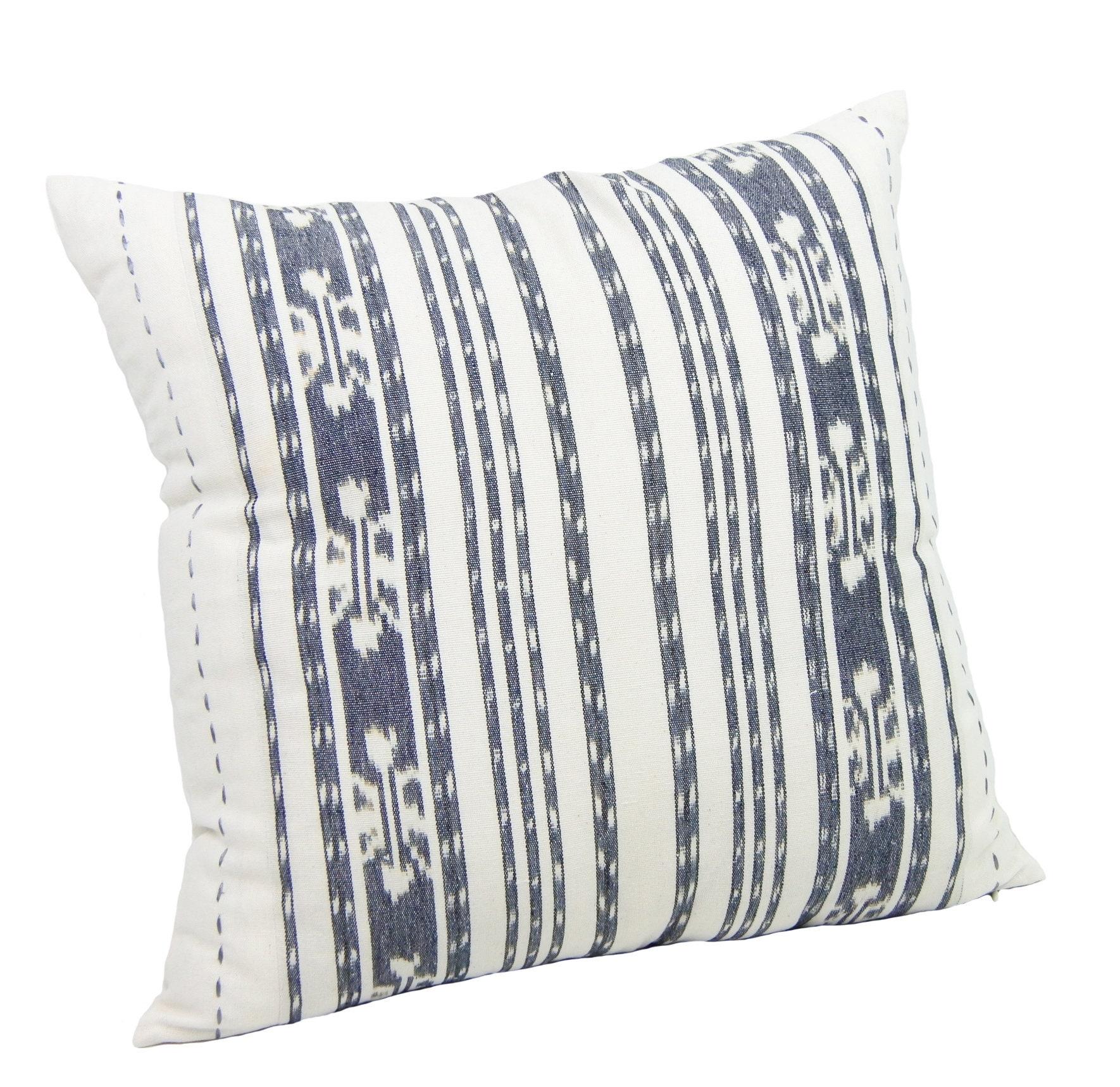 modern farmhouse pillow boho throw pillow decor striped  etsy