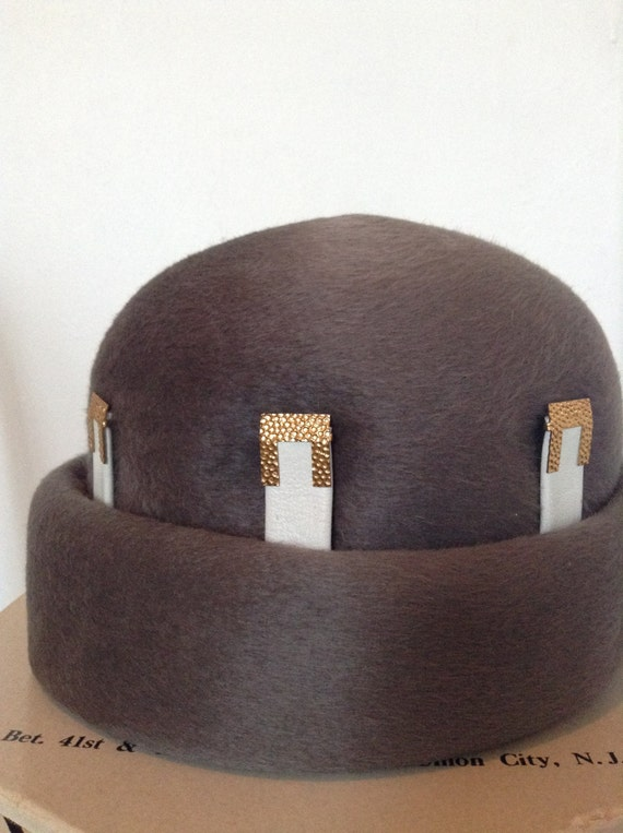 Vintage Christian DIOR Chapeaux Hat - image 2