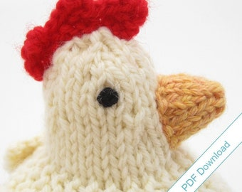 Knitting Pattern PDF. Knit Your Own Mother Hen.