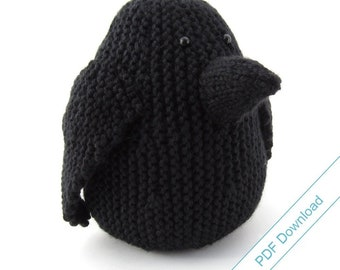 Digital Download Knit Pattern - Big Crow