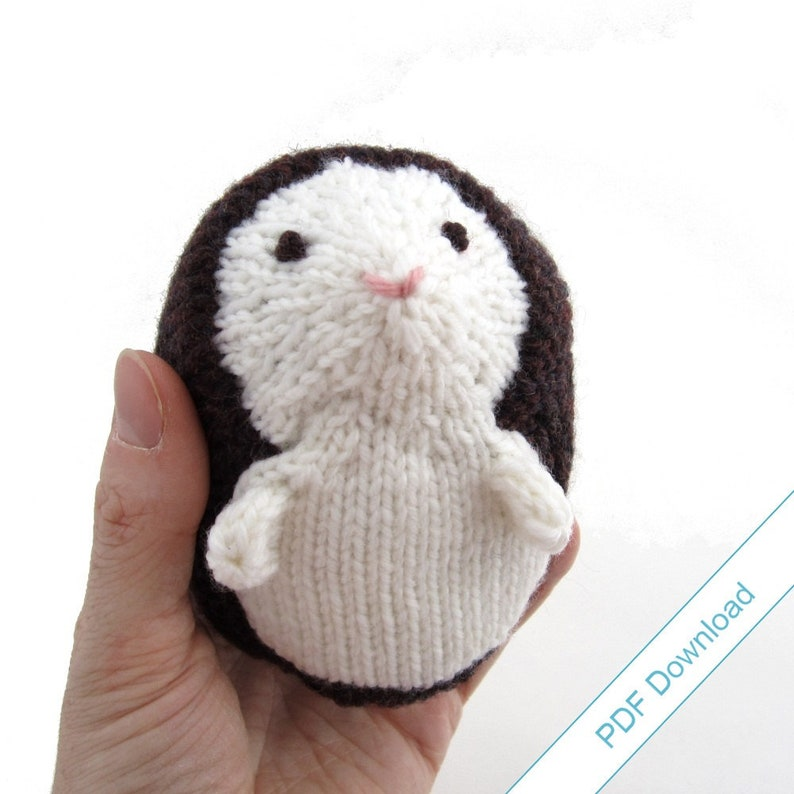 Hedgehog Knitting Pattern PDF. Knit Your Own Woodland image 0
