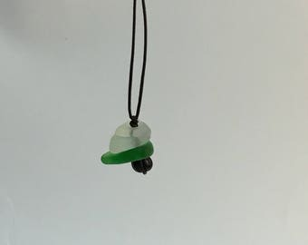 Lake Superior Beach Glass Necklace #252017