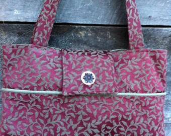 One of a Kind Floral Tote
