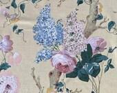 """Vintage 1981 Lee Jofa """"Trentham Hall"""" Fabric Sample, Vintage Lee Jofa Trentham Hall Fabric, Vintage Lee Jofa Fabric"""