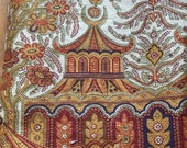 "Vintage Clarence House ""Karachi"" Fabric 2 yards"