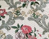 "Vintage Schumacher ""Wycombe Chintz"" Fabric Sample, Wycombe Chintz Fabric, Schumacher Fabric, Vintage fabric"
