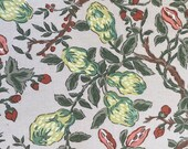 "Vintage 1950s Brunschwig & Fils ""Chinese Lemon"" Fabric Sample, Brunschwig and Fils Chinese Lemon Fabric, Grandmillennial Fabric"