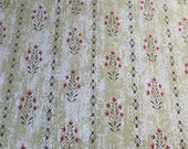 "Vintage 1970s Greeff ""Kennebunkport"" Fabric Sample, Greeff Kennebunkport Fabric , Vintage Greeff Kennebunkport Fabric"