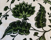 "Rare 1960s Fortuny Elsie McNeill Linen Fabric ""Jeanetta,"" Vintage Elsie McNeill Linen Fabric Jeanetta, Vintage Fortuny Linen Fabric, Fortuny"