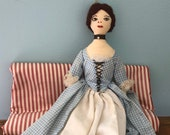 Handmade Colonial Era Style Lady Doll Shenandoah Valley
