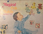 Vintage 1970s Revolving Musical Crib Mobile by Dolly Toy
