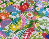 Vintage 1970s Homemade Patchwork Quilt Lap Blanket, 1970s Homemade Patchwork Quilt Lap Blanket, Flower Power Quilt, 1970s Quilt
