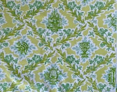 """Vintage 1960s S. M. Hexter """"Lully"""" Fabric Sample, S. M. Hexter Lully Fabric, S. M. Hexter Fabric"""