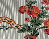 "Vintage 1960 Brunschwig & Fils ""Montargis"" Fabric, Brunschwig and Fils Montargis Fabric, Brunschwig and Fils Montargis, Vintage Fabric"