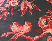 Vintage 1950s Scalamandré Fabric Sample, Vintage Scalamandré Fabric, Vintage Fabric Sample