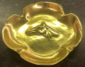 Vintage Brass Horse Dish by Virginia Metalcrafters