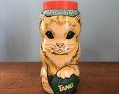 Tang Cat Bank, Vintage Tang Cat Bank, 70s Bank, 70s Tang Bank