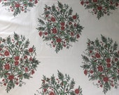 """Vintage 1986 Bailey & Griffin """"Tree of Life"""" Fabric Sample, Vintage Bailey and Griffin Fabric, Vintage Tree of Life Fabric, Vintage fabric"""