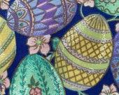 Vintage Easter Egg Napkins, Vintage Easter Napkins, Vintage Egg Napkins, Vintage Napkins, Vintage Bardwil Industries Linens Easter Napkins