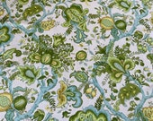 Vintage Stroheim & Romann Royal Windsor Garden Fabric Sample, Royal Windsor Garden Fabric, Stroheim and Romann Vintage Fabric