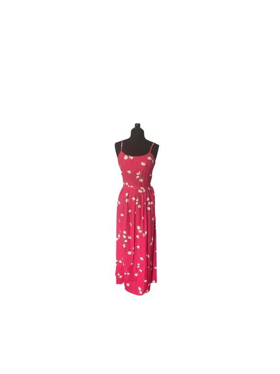 Vintage 1960s Size 10 Malia of Honolulu Maxi Dress