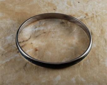 Vintage Ladies Mood Bracelet WORKING! Bangle Silver Tone Metal Jewelry