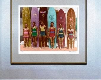 Duke Surfboard Etsy