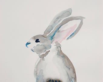 Sparkled Bunny Rabbit, Limited Edition Fine Art Print