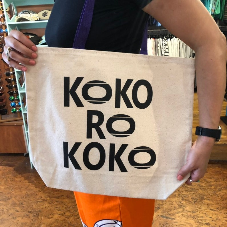 KOKOROKOKO Logo Tote Bag UNION Made in the USA