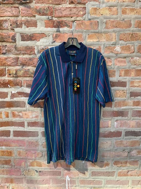Vintage 90s COOGI Polo Shirt Deadstock Size