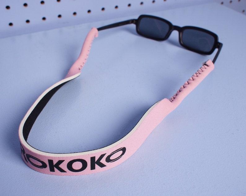 aaca4f197f PINK Custom Kokorokoko Neoprene Eyewear Croakies