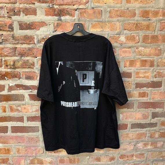 Vintage 90s PORTISHEAD Band T-shirt Size XL Parki… - image 10
