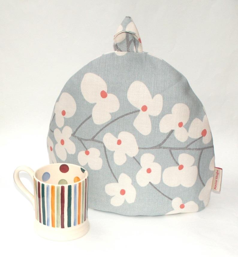 8e052c752178 Tea Cosy John Lewis Wallflower Slate Grey Tea Pot Cozy | Etsy