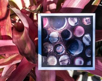 Blank Greeting Card - Polka Dots - Birthday - Valentine's Day