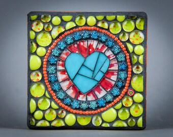 Signature Heart Mosaic - Bubbles