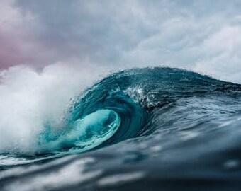 "Ocean Water Hand Dipped 11"" Incense - 10 sticks"