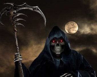"Grim Reaper – Hand Dipped 11"" Incense - 10 sticks"