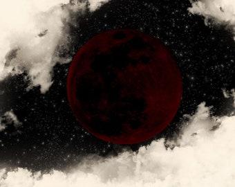 """Dark Moon Handcrafted 11"""" Incense - 10 Sticks"""