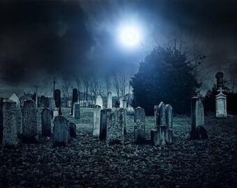 "Graveyard Hand Dipped 11"" Incense - 10 sticks"