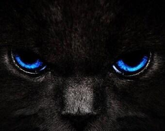 "Black Cat 11"" Handcrafted Incense - 10 sticks"