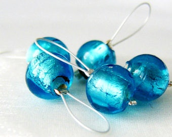In a Turquoise Sea - Five Snag Free Stitch Markers - Fits Up To 5.5 mm (9 US) - Limited Edition