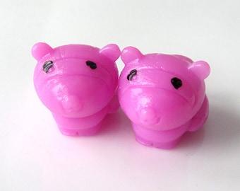 LAST SET - Frisky Ferrets - Needle Buddies - Small Sock Size Double Pointed Needle DPN Holders